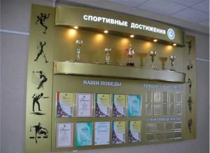 Школьный стенд Спортивные достижения